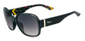 Salvatore Ferragamo Sunglasses SF603S 001 Blk 58MM