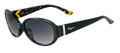 Salvatore Ferragamo Sunglasses SF605S 001 Blk 56MM
