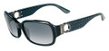Salvatore Ferragamo Sunglasses SF608S 001 Blk 59MM