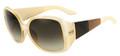 Fendi Sunglasses 5254 264 Pastel Beige 58MM