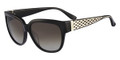 SALVATORE FERRAGAMO Sunglasses SF663S 001 Blk 56MM