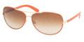 TORY BURCH Sunglasses TY 6013Q 940/13 Orange Leather 60MM