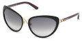 TOM FORD Sunglasses FT0321 32B Gold / Gradient Smoke 59MM