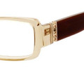 Christian Dior 3152 Eyeglasses 0EWS Hny Trans/Brown (5515)