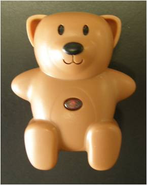 Image of CL-103 Brown replacement locator tracker bear