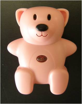 Image of CL-103 pink Child Locator tracker replacement bear