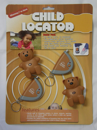 CL-103 Child tracker locator two pack brown picture