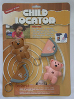 Child Locator 2 Pack Brown Pink