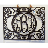 Filigree Acrylic Wall Monogram  www.tinytulip.com Brown Acrylic