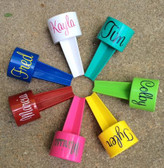 Monogrammed Spiker Beach Beverage Holder