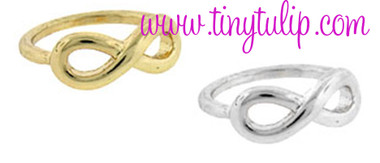 Infinity Knuckle Rings Free Shipping www.tinytulip.com
