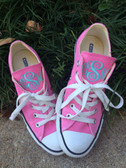 Monogrammed Converse Chuck Taylor All Stars www.tinytulip.com