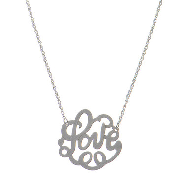 Love Necklace www.tinytulip.com