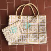 Monogrammed Messenger Crossbody Bag  www.tinytulip.com