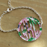 Mary Beth Goodwin Bordered Monogram Bracelet www.tinytulip.com