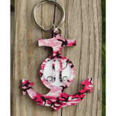 Pattern Layered Anchor Keychain www.tinytulip.com