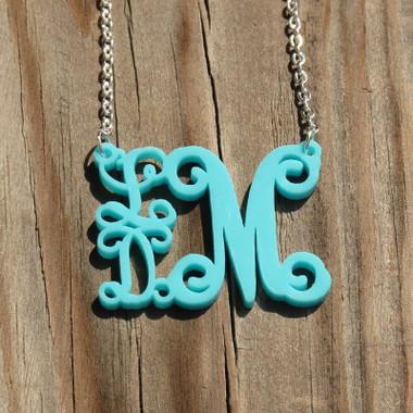 Stack Vine Acrylic Necklace www.tinytulip.com