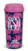 Lilly Pulitzer Tusk In Sun Monogrammed Thermal Coffee Mug www.tinytulip.com