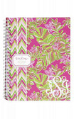 Lilly Pulitzer Jungle Tumble Monogrammed Mini Notebook  www.tinytulip.com
