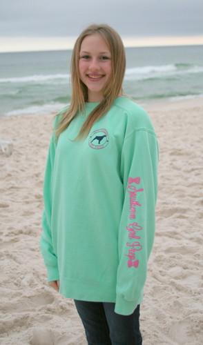Island Reef Preppy Southern Girl Sweatshirt  www.tinytulip.com Southern Girl Prep