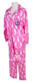Seahorse Monogrammed Kids Long Pajama Set  www.tinytulip.com Navy Master Script