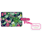 Lilly Pulitzer Tiger Lilly Luggage Tag www.tinytulip.com Back