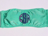 Vineyard Vines Monogrammed Bandeau Bathing Suit Mint with Navy thread