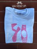 Monogrammed Ballet Shoes Tshirt