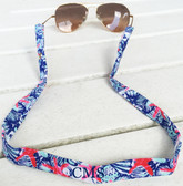 Monogrammed Lilly Pulitzer She She Shells Sunglass Straps www.tinytulip.com