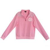 Pink Seersucker Pullover www.tinytulip.com