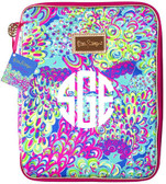 Monogrammed Lilly's Lagoon Lilly Pulitzer Notebook Folio Case www.tinytulip.com