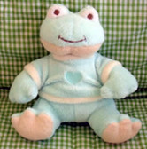 Cashmere-Soft - Green Froggy - Plush Toy