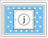 Stampable Swiss Dots Note Cards
