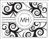 Stampable Classic Black and White Note Cards