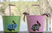 Easter Bunny Buckets