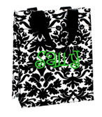Damask Reusable Eco Friendly Small Drug Store Tote - www.tinytulip.com