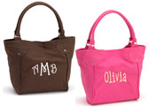 Canvas Purse ~ Monogrammed