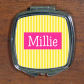 Personalized Compact Mirror ~Monogrammed - www.tinytulip.com