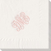 Personalized Solid Color 3-Ply Luncheon Napkins  www.tinytulip.com
