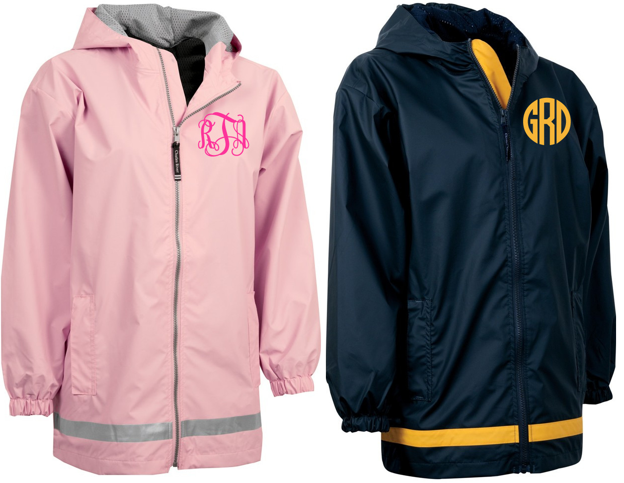Monogrammed Raincoat Windjacket Youth Tinytulip Com We Re