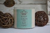 Keep Calm and Say I Do Votive Vase www.tinytulip.com