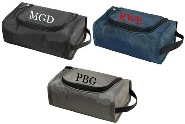 Mens Monogrammed Toiletry Bag