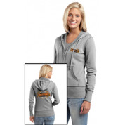 EOL JUNIOR Ladies Hooded Zip-Up