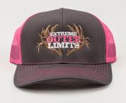 EOL Logo Cap - Pink/Black/Charcoal