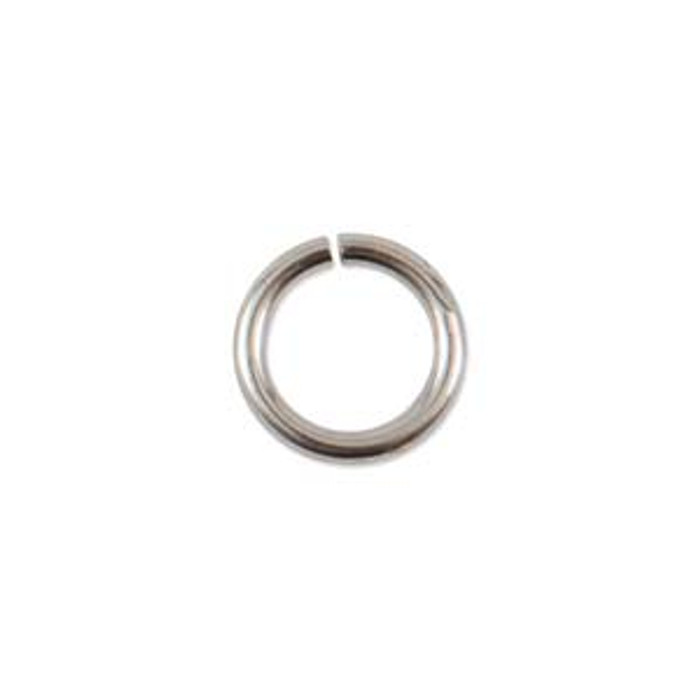 Jump Ring - Antique Silver - 8.5mm