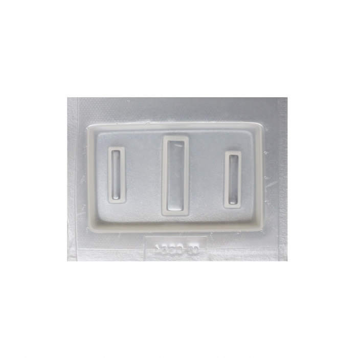 Resin Mould - Thin Rectangles - 3 in 1