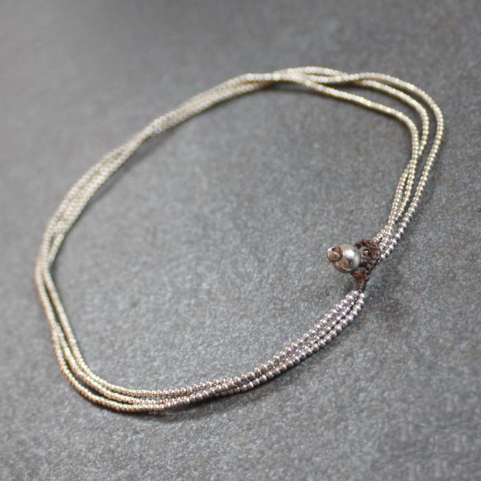Silver Three Tier Necklace