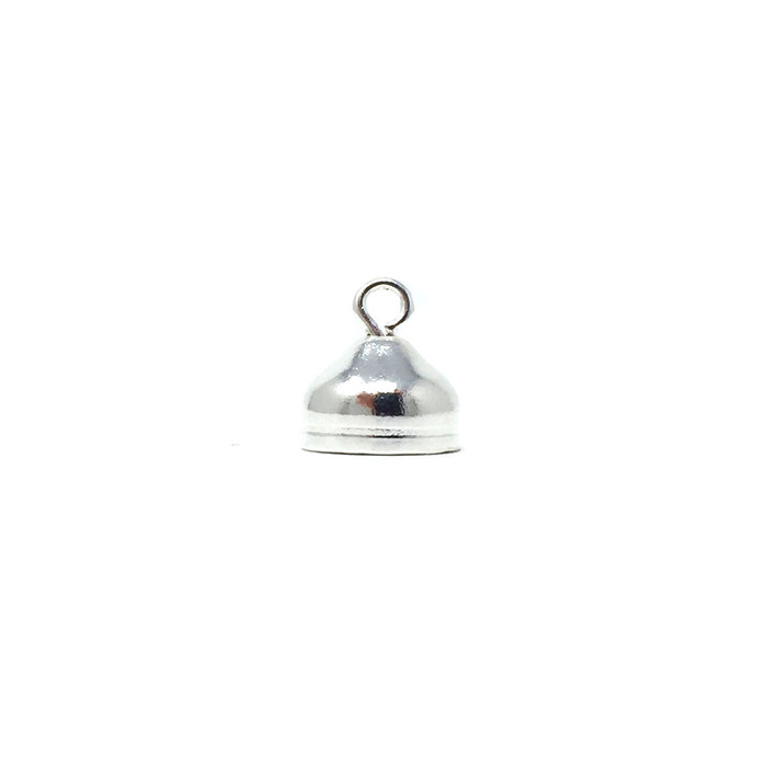 Cord End - Silver Plated