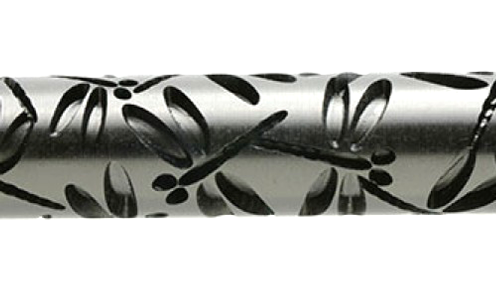 Large Acrylic Texture Roller - Dragonflies 7.5cm