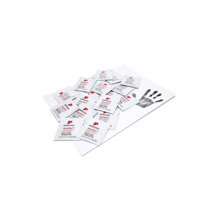 Inkless Print Set - 10 wipes + 10 A4 papers